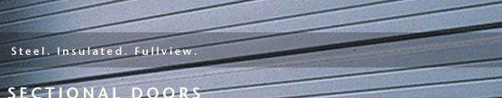 Commercial Garage Door Sectional Banner