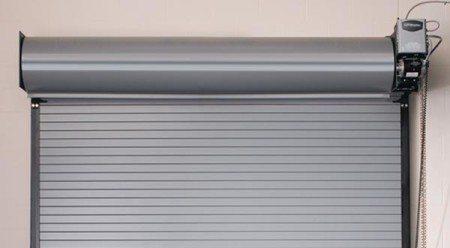 Rolling Slat Commercial Garage Door Model 4100