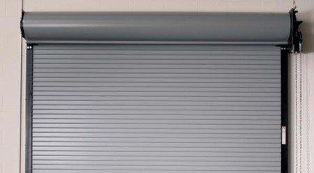 Rolling Slat Commercial Garage Door Model 4200