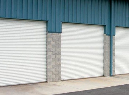 Rolling Sheet Commercial Garage Door Model 5501