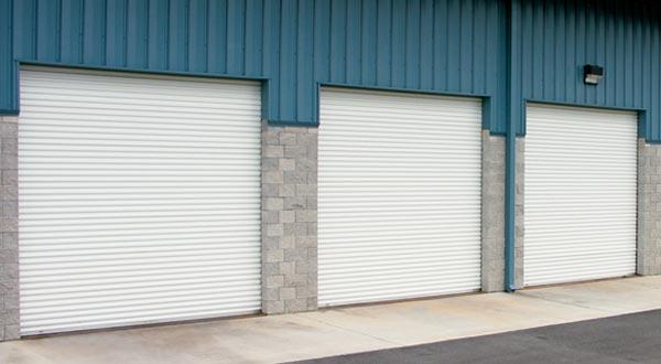 Rolling Sheet Commercial Garage Door Model 5501 & All Star Garage Door - Rolling Sheet Commercial Garage Doors