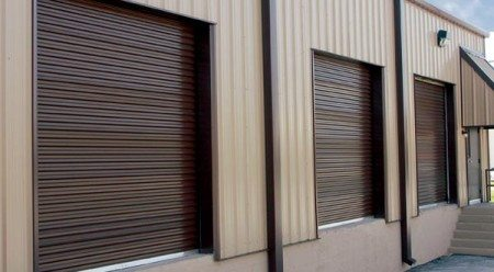 Rolling Sheet Commercial Garage Door Model 5601