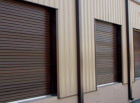 Rolling Sheet Commercial Garage Door Model 5601
