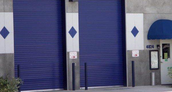 Rolling Sheet Commercial Garage Door Model 5652
